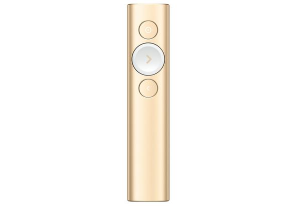 Logitech Spotlight Plus Presentation Remote, Gold
