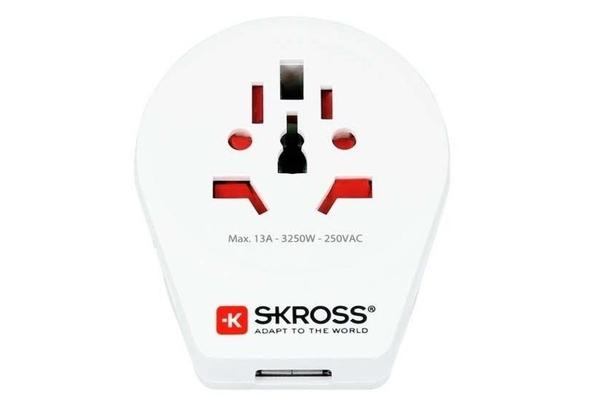 SKROSS world to UK USB Adaptor