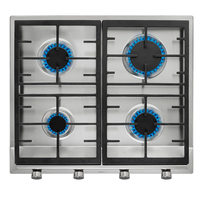 Teka 60 cm Built-In Gas Hob EX 60.1 4G AI AL CI, 4 Burners