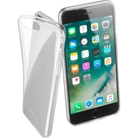 Cellularline Fine Rubber Case for Iphone 7/8 Plus, Clear