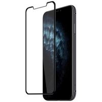 Inet 3D Full Glue TG Screen Protector W/Back Case For iPhone 11 INTGBCIP11