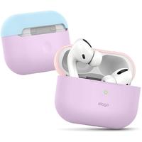 Elago EAPPDO-LV-LPKPBL AirPods Pro Case, Top-Lovely Pink/Pastel Blue, Bottom-Lavender