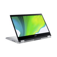 """Acer Spin 3, Core i5-1035G1, 8GB RAM, 512GB SSD, 14"""" FHD Convertible Laptop, Silver"""