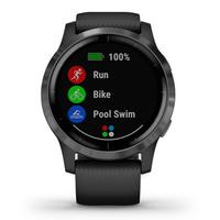 Garmin Vivoactive 4 GPS Smartwatch, Black
