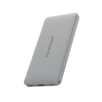 RAVPower 10000mAh PD 18W QC 3.0 Power Bank,  Grey