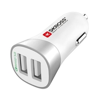 SKROSS Dual USB Car Charger