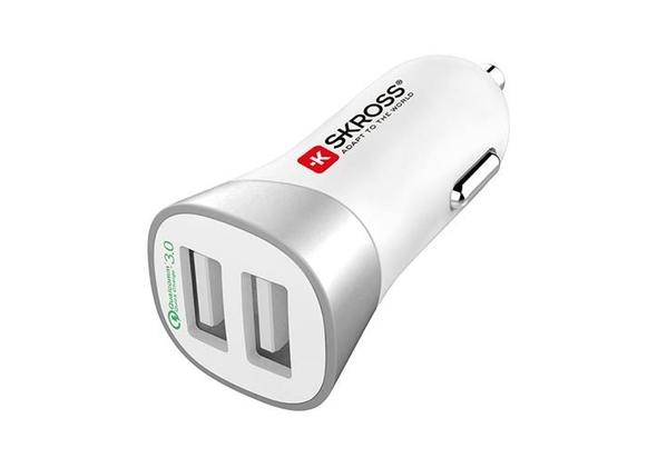 SKROSS Dual USB Car Charger