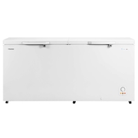 Hisense A+ Chest Freezer 660 LTR, Handle Easy to clean Fast Freezer, White