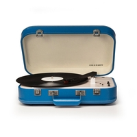 Crosley CR6026A-BL Coupe Bluetooth Turntable, Blue