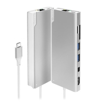 Alogic USB-C Dock PLUS with Power Delivery Ultra Series, Silver