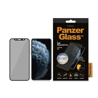 PanzerGlass Apple iPhone X/Xs/11 Pro Black & Case Friendly, CamSlider & Dual Privacy