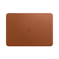Apple Leather Sleeve for 15-inch MacBook Pro, Saddle Brown