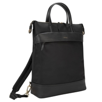 "Targus Newport 15"" Laptop Convertible Tote Backpack, Black"