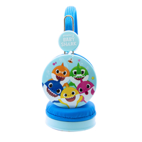 OTL BS0658 Baby Shark Pink Headphones for Children Blue