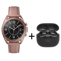 Samsung Galaxy Watch 3 Bluetooth 41mm with JBL Tune 120, Mystic Bronze