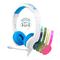 BuddyPhones School+ headphones, Blue