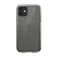Speck Presidio Clear+ Glitter for iPhone 11, Clear/Gold Glitter