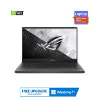 "ASUS ROG Zephyrus G14, Ryzen 9-5900HS, 32GB RAM, 1TB SSD, Nvidia GeForce RTX 3060 6GB Graphics, 14"" WQHD 120Hz Gaming Laptop, Gray"