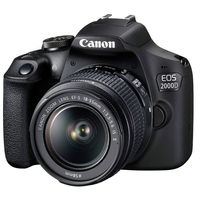 Canon EOS 2000D DSLR Camera with 18-55 DCIII