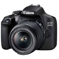 كاميرا كانون EOS 2000D DSLR مع 18-55 DCIII