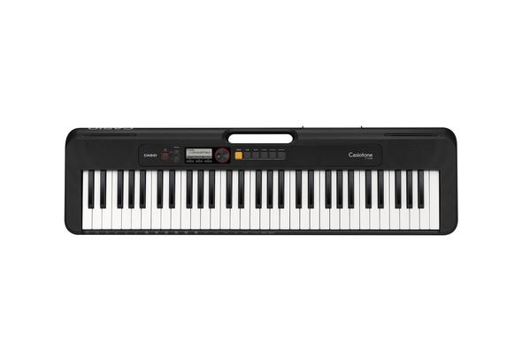 Casio CTS-200 Keyboard with Adaptor, Black