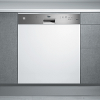 Teka 60 cm Built-In Semi-integrated Dishwasher DW9 55 S, 5 Programs, 12 Place settings