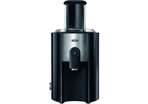 Braun J500 Multiquick 5 Spin Juice Extractor, Black
