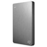 Seagate Backup Plus Slim 2TB USB 3.0 Portable 2.5 Inch External Hard Drive for PC and Mac, Silver