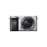 سوني الفا a6100 كاميرا رقمية بدون مر,  فضي