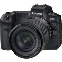 كانون EOS R كاميرا رقمية بدون مرآة مع عدسة مقاس 24-105 مم f / 4-7.1
