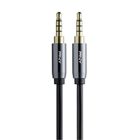 PNY Audio Cable 3.5mm to 3.5mm Jack Cable 1M PNY-CAMAMC0103