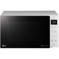 LG MH6535GI 25 Liters NeoChef Smart Inverter Microwave with Grill, White