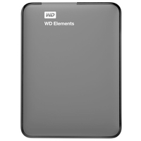 WD, Elements USB 3.0 قرص تخزين خارجي سعة 2 تيرا بايت, Hard Disk & Memory Cards