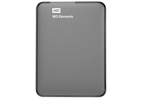 WD 2TB Elements USB 3.0 External Hard Drive, Hard Disk & Memory Cards