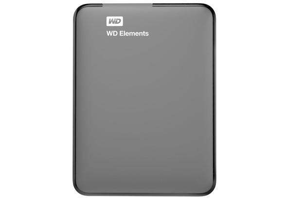 WD 2TB Elements USB 3.0 External Hard Drive, Hard Disk & Memory Cards