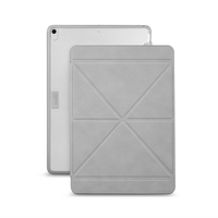 Moshi VersaCover Case with Folding Cover for iPad Pro/Air (10.5-inch) , Stone Grey