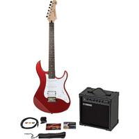 Yamaha EG112GPII MTU Steel String Electric Guitar Package, Red