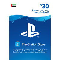 Sony Wallet top up 30 USD