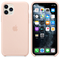 Apple iPhone 11 Pro Silicone Case, Pink Sand