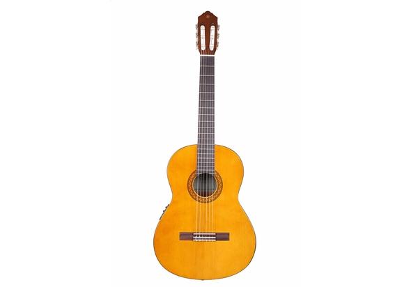 Yamaha CX40 Full Size Electro Nylon String Classical Guitar, Natural