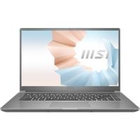 """MSI Modern 15 A11M i7-1165G7, 8GB RAM, 512GB SSD, 15.6"""" FHD Laptop, Silver"""