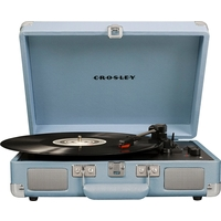 Crosley CR8005D-TN Cruiser Deluxe Turntable, Tourmaline