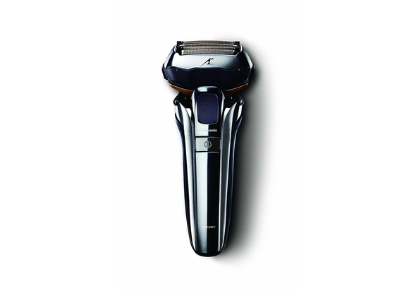 Panasonic ES-LV9Q Premium Wet/Dry Shaver, Silver/Black