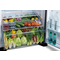 Hitachi RV710PUK7KBSL 710L Top Mount Refrigerator, Brilliant Silver