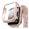 Hyphen HAW-RG448844 Apple Watch Protector Tempered Glass Rose Gold 44mm