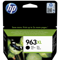 HP 963XL High Yield Ink Cartridge,  Black
