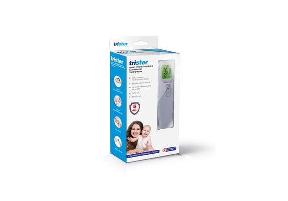 Trister Smart 4 Mode Forehead & Ear Infrared Thermometer