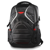 "Targus Strike 17.3"" Gaming Laptop Backpack, Black/Red"