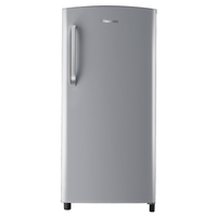 Hisense A+ Single Door Refrigerator -195 LTR, Silver