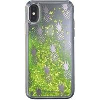 CellularLine Stardust for Apple iPhone X / XS, gel case, Pineapple motif